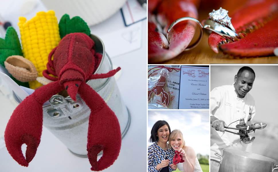 lobster wedding gift