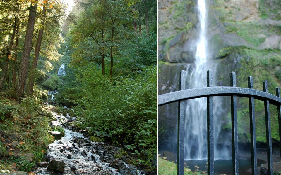 Columia River Gorge Waterfalls