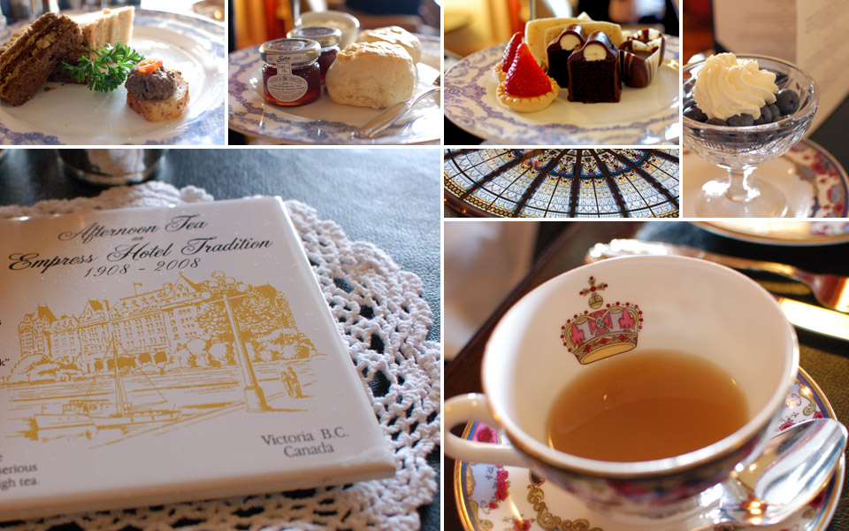 Fairmont Empress High Tea