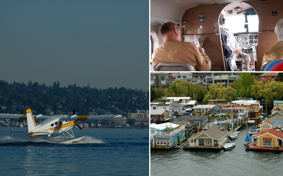 Kenmore Seaplane from Seattle to Victoria