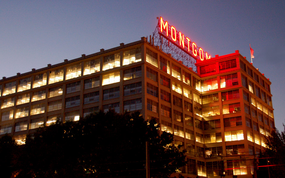 Montgomery Ward Building in Portland