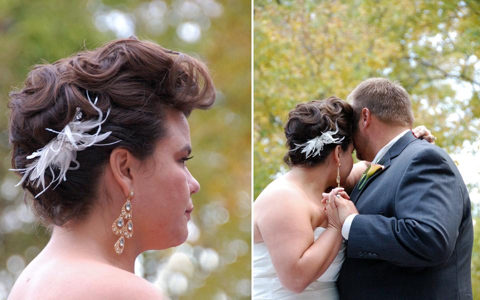 A+J wedding ceremony