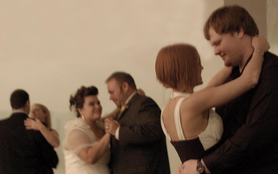 A+J wedding reception, Figge Art Museum
