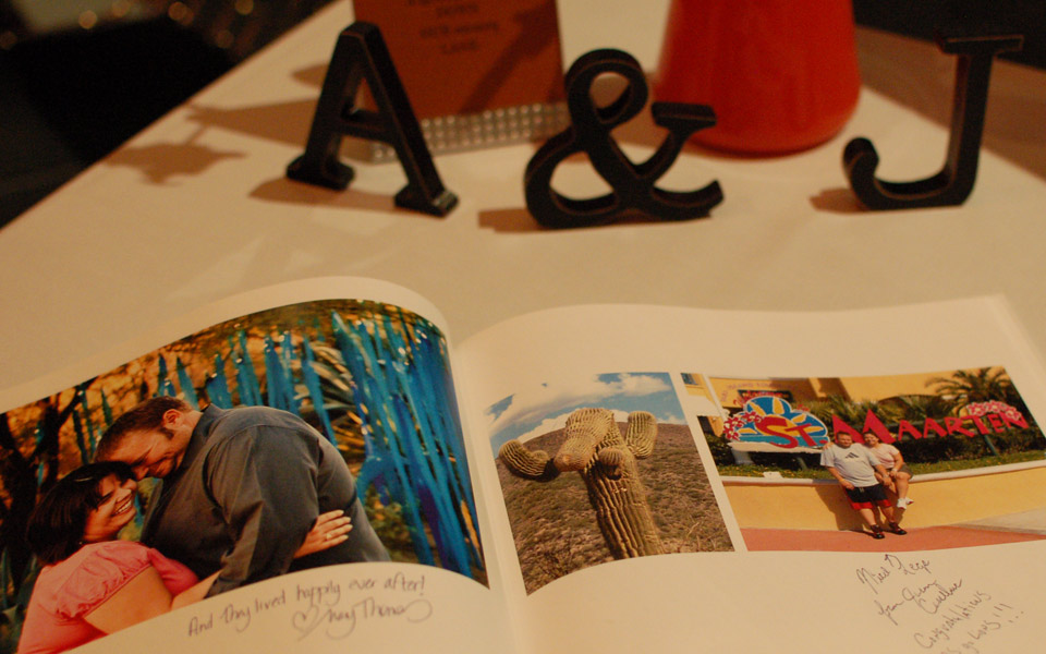 A+J wedding ceremony, Figge Art Museum