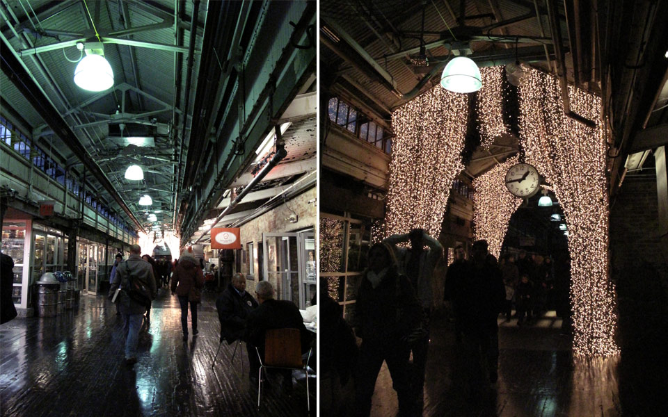 Chelsea Market in NYC