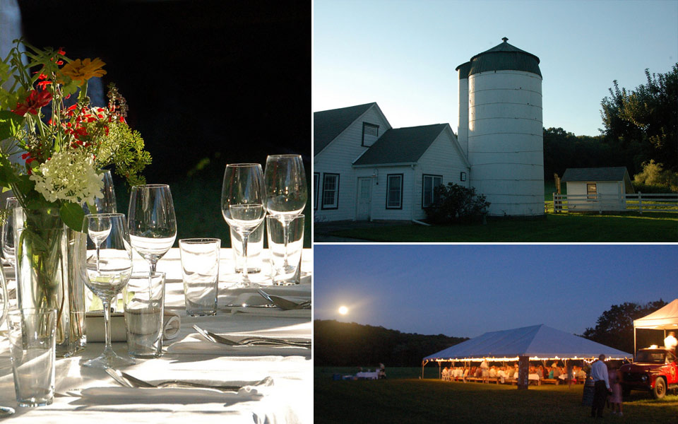 Dinners at the Farm at in Old Lyme, CT (2008)
