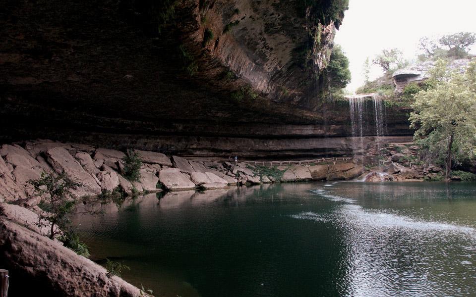 Hamilton Pool Preserve. Dripping Springs, Texas.
