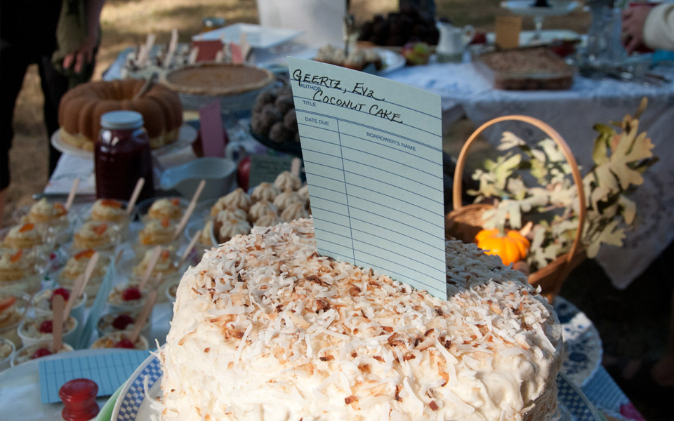 Coconut cake at the 2015 Flying Pig Roast