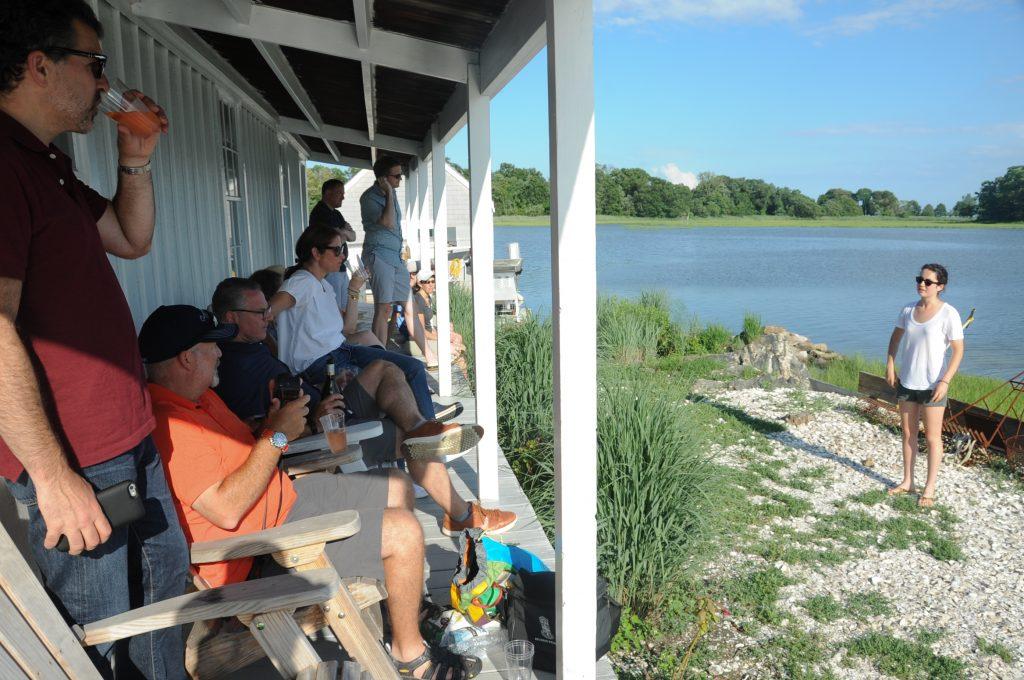 Hummock Island Oyster Farm tour